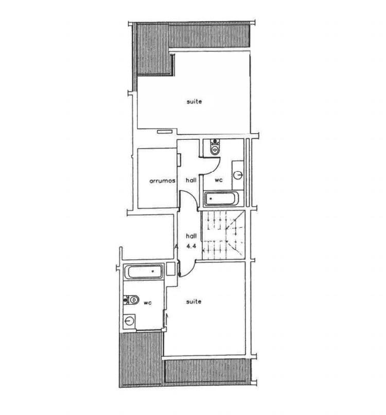 Wohnung 2 Schlafzimmer DÚPLEX